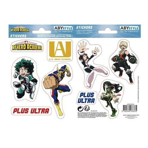 My Hero Academia Mini Stickers Set Decals